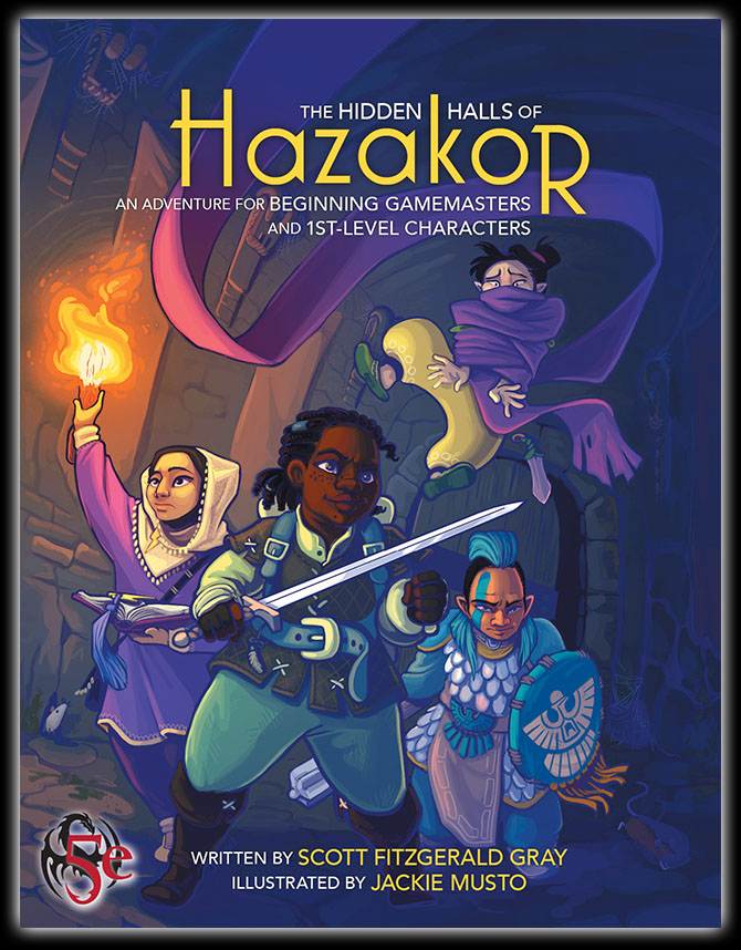 The Hidden Halls of Hazakor — Every Young Hero Needs Somewhere to Start
